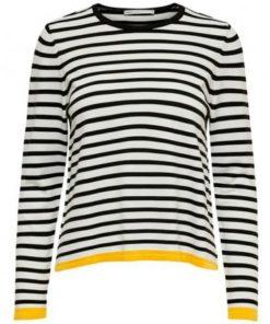 Camiseta-Only-Onlsuzana-L:S-Pullover-amarillo